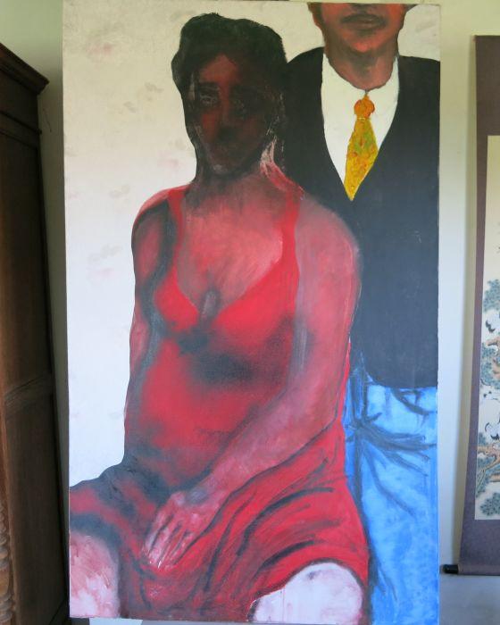 COUPLE   1997 : PHILIPPE DARGENT - PEINTRE DESSINATEUR LIEGE