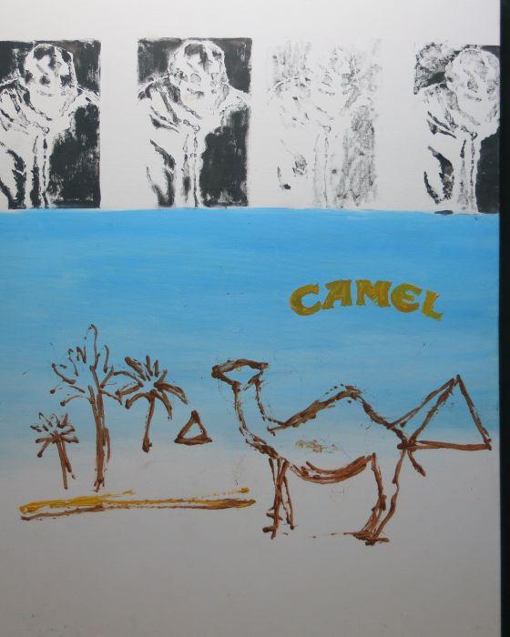 CAMEL   2004 : PHILIPPE DARGENT - PEINTRE DESSINATEUR LIEGE
