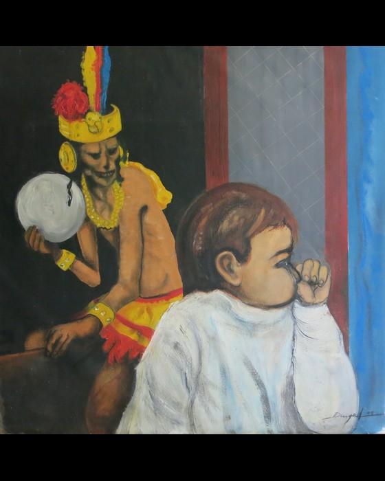RASCAR CAPAC  VERSION II   2011 : PHILIPPE DARGENT - PEINTRE DESSINATEUR LIEGE