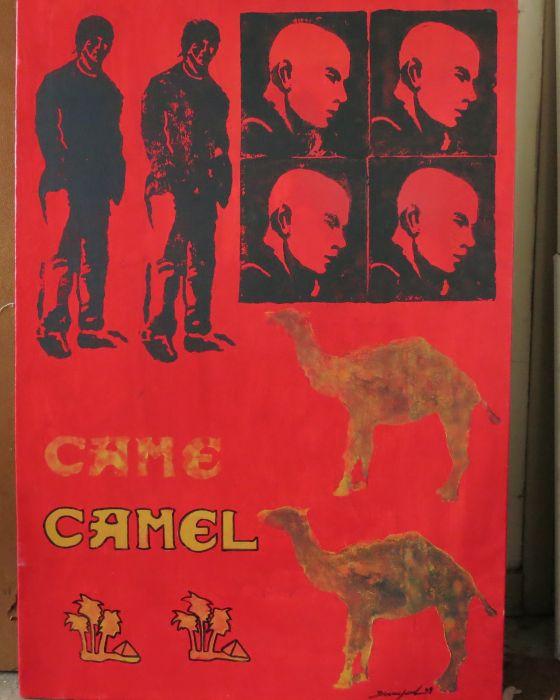 CAMEL   2009 : PHILIPPE DARGENT - PEINTRE DESSINATEUR LIEGE