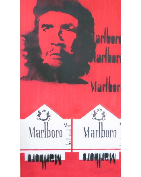MARLBORO I  CHE GUEVARA   1995 : PHILIPPE DARGENT - PEINTRE DESSINATEUR LIEGE