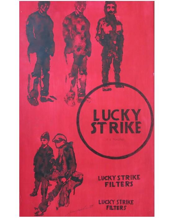 LUCKY STRIKE II   1995 : PHILIPPE DARGENT - PEINTRE DESSINATEUR LIEGE